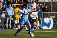 North Carolina Tar Heels midfielder Yael Averbuch (17). The North Carolina Tar Heels defeated the Notre Dame Fighting Irish 2-1 during the finals of the NCAA Women's College Cup at Wakemed Soccer Park in Cary, NC, on December 7, 2008. Photo by Howard C. Smith/isiphotos.com