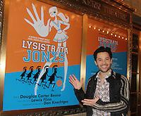 12-17-11 Jason Tam in Broadway's Lysistrata Jones at Walter Kerr Theatre, NYC