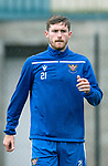 St Johnstone Training…04.09.19<br />Anthony Ralston pictured during training at McDiarmid Park<br />Picture by Graeme Hart.<br />Copyright Perthshire Picture Agency<br />Tel: 01738 623350  Mobile: 07990 594431