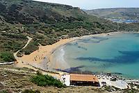 Ghajin Tuffieha Bay, Malta, Europa