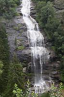 Wasserfall, Wasser-Fall, Gebirgsbach, Malta Hochalmstraße, Alpen, Kärnten, Österreich
