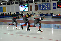 SPEEDSKATING: 14-02-2020, Utah Olympic Oval, ISU World Single Distances Speed Skating Championship, Team Pursuit Ladies, Team Canada (CAN), ©Martin de Jong