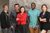 Guibord s'en va-t-en guerre <br /> <br /> Guibord s'en va-t-en guerre est un film québécois réalisé par Philippe Falardeau sorti le 2 octobre 2015. Il met en vedette Patrick Huard, Irdens Exantus (en), Suzanne Clément et Clémence Dufresne-Deslières<br /> <br /> <br /> Photo : Agence Quebec Presse
