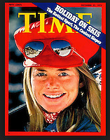 Time Cover, Holiday on Skis, December 23, 1972. Photo by John G. Zimmerman.