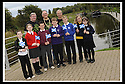 19/09/2008  Copyright Pic: James Stewart.File Name : 03_mod_march.MOD 2008 :: FORT WILLIAM TO FALKIRK WALK.Rear Left to Right : COUNCILLOR ANGUS MACDONALD, PROVOST PAT REID, FUNDRAISING ORGANISER ALAN RANKIN..Front Left to Right : CLHOE BLACKHALL (EASTER CARMUIRS). SOPHIE FARRELL (ST FRANCIS), CRAIG HULME (COMLEY PARK), ANDREW GREENWAY (LANGLEES), REAGAN MILNE (BANTASKIN), REBECCA THOMSON (CARMUIRS), AMBER MCCALLUM (EASTER CARMUIRS)..James Stewart Photo Agency 19 Carronlea Drive, Falkirk. FK2 8DN      Vat Reg No. 607 6932 25.James Stewart Photo Agency 19 Carronlea Drive, Falkirk. FK2 8DN      Vat Reg No. 607 6932 25.Studio      : +44 (0)1324 611191 .Mobile      : +44 (0)7721 416997.E-mail  :  jim@jspa.co.uk.If you require further information then contact Jim Stewart on any of the numbers above........
