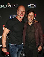 HOLLYWOOD, CA - OCTOBER 12: Joseph Gatt, Michael Lombardi, at the 21st Screamfest Opening Night Screening Of The Retaliators at Mann Chinese 6 Theatre in Hollywood, California on October 12, 2021. Credit: Faye Sadou/MediaPunch