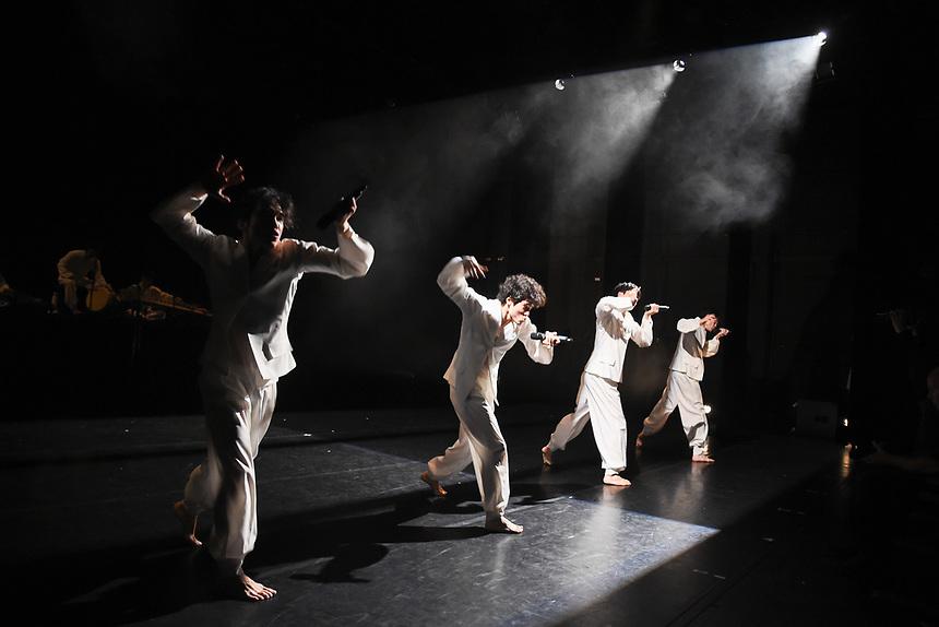 perform Sok-do (Velocity) as part a Festival of Korean Dance 2019 at The Place, London<br /> <br /> ©Ash Knotek  D3503  31/05/2019