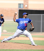 Daigoro Rondon / Los Angeles Dodgers 2008 Instructional League..Photo by:  Bill Mitchell/Four Seam Images