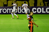 23rd August 2020; Estadio Ilha do Retiro, Recife, Pernambuco, Brazil; Brazilian Serie A, Sport Recife versus Sao Paulo; Pablo of Sao Paulo celebrates his goal in the 5th minute  for 0-1