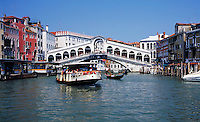 Ferry Boats navigating the canals of Venice, Italy. waterways, boat, cityscape, canal. Venice, Italy.