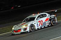 #70 SpeedSource Mazda RX-8 of James Hiinchcliffe, Sylvain Tremblay, Marino Franchitti & Jonathan Bomarito