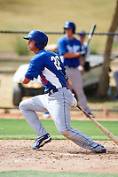 Los Angeles Dodgers minor league infielder Corey Seager #26 during an instructional league game against the Chicago White Sox at the Camelback Ranch Training Complex on October 6, 2012 in Glendale, Arizona.  (Mike Janes/Four Seam Images)