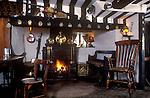 The Village Pub. Royal Oak, Whatcote, Warwickshire, England 1990s 1991