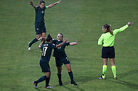 Giada Greggi of Italy celebrates with team mates after scoring a goal<br /> Castel di Sangro 12-11-2019 Stadio Teofolo Patini <br /> Football UEFA WomenÕs EURO 2021 <br /> Qualifying round - Group B <br /> Italy - Malta<br /> Photo Cesare Purini / Insidefoto
