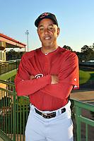 Feb 25, 2010; Kissimmee, FL, USA; The Houston Astros coach Bobby Meacham (10) during photoday at Osceola County Stadium. Mandatory Credit: Tomasso De Rosa / Four Seam Images