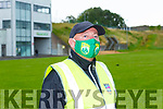 Fitzgerald Stadium stewart Seamie Doherty on duty at the Dr Crokes v Templenoe SFC clash on Friday evening