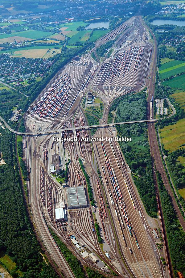 Rangierbahnhof Maschen: EUROPA, DEUTSCHLAND, NIEDERSACHSEN, MASCHEN, (EUROPE, GERMANY),12.07.2014: Rangierbahnhof Maschen