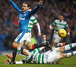 Erik Sviatchenko tackles Harry Forrester