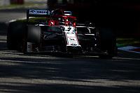 5th September 2020; Autodromo Nazionale Monza, Monza, Italy ; Formula 1 Grand Prix of Italy, Qualifying;  7 Kimi Raikkonen FIN, Alfa Romeo Racing ORLEN