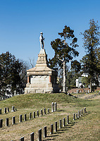 Fredericksburg Confederate Cemetery, Fredericksburg, Virginia, USA