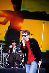 Various live photographs of the rock band, The Jesus & Mary Chain.