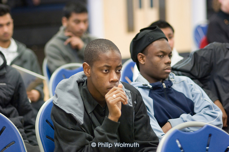 Faith Culture in Diversity Youth Conference, organised by Central London Youth Development, at the Stowe Centre, Paddington.