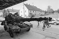 - Franco-German bilateral military exercise in Bavaria, French Army Panhard ERC-90 Sagaie armoured car, September 1987<br /> <br /> - Esercitazione militare bilaterale franco-tedesca in Baviera, autoblindo Panhard ERC-90 Sagaie dell'esercito Francese, Settembre 1987