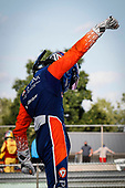 #9: Scott Dixon, Chip Ganassi Racing Honda, winner, celebration