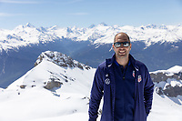 CRANS-MONTANA, SWITZERLAND - MAY 28: Head coach Gregg Berhalter of the United States at Pointe de la Plaine Morte on May 28, 2021 in Crans-Montana, Switzerland.