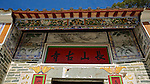 Entrance to the Cheung Shan Monastery at Ping Che, Fanling.