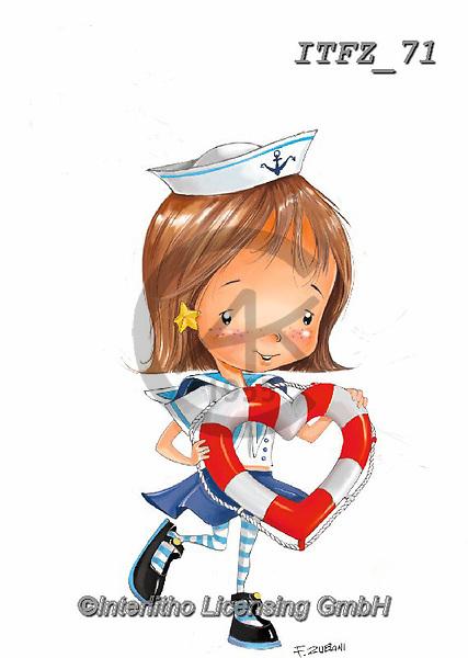 Interlitho-Fabrizio, Comics,valentine , paintings+++++,sailor,heart,ITFZ71,#V#, EVERYDAY ,sticker,stickers