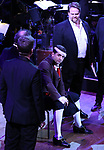 """Tony Yazbeck and cast performing during the MCP Production of """"The Scarlet Pimpernel"""" Concert at the David Geffen Hall on February 18, 2019 in New York City."""