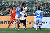 11th September 2021;  Mirko Fersini Stadium, Rome, Italy ; Serie A Womens championship football, Lazio versus Milan ; Valentina Giacinti of Milan scores her goal