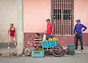 27/07/18<br /> <br /> Fruit stall, Trinidad, Cuba.<br /> <br /> All Rights Reserved, F Stop Press Ltd. (0)1335 344240 +44 (0)7765 242650  www.fstoppress.com rod@fstoppress.com