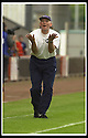 17/8/02               Copyright Pic : James Stewart                     .File Name : stewart-airdrie v stranraer 10.STRANRAER BOSS BILLY MCLAREN PLEADS WITH THE LINESMAN OVER A DODGY DECISION......James Stewart Photo Agency, 19 Carronlea Drive, Falkirk. FK2 8DN      Vat Reg No. 607 6932 25.Office : +44 (0)1324 570906     .Mobile : + 44 (0)7721 416997.Fax     :  +44 (0)1324 570906.E-mail : jim@jspa.co.uk.If you require further information then contact Jim Stewart on any of the numbers above.........