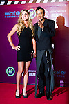 HAIKOU, CHINA - OCTOBER 29:  Spanish golfer Belen Mozo (L) and Hong Kong actor Simon Yam attend red carpet during day three of the Mission Hills Start Trophy tournament at Mission Hills Resort on October 29, 2010 in Haikou, China. Photo by Victor Fraile / The Power of Sport Images