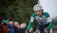 Alexander 'Moustache' Revell (NZL) is back!<br /> <br /> Vlaamse Druivencross Overijse 2013