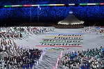 General View,<br />JULY 23, 2021 : <br />Tokyo 2020 Olympic Games Opening Ceremony at the Olympic Stadium in Tokyo, Japan. <br />(Photo by MATSUO.K/AFLO SPORT)