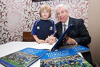 Paddy Breslin aged 9 from Churchtown and Ray McManus