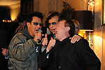 EDOARDO BENNATO, LITTLE TONY E PUPO<br /> FESTA DEGLI 80 ANNI DI MARTA MARZOTTO<br /> CASA CARRARO ROMA 2011