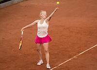 Amstelveen, Netherlands, 5  Juli, 2021, National Tennis Center, NTC, AmstelveenWomans Open, Gavrilla  (ROU)  Morderger (GER)<br /> <br /> Photo: Henk Koster/tennisimages.com