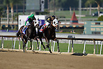 Nov. 02, 2012 - Arcadia, California, U.S - Hightail(KY) inside ridden by Rajiv Maragh and trained by D Wayne Lucas , wins the Breeders' Cup Juvenile Sprint at Santa Anita Park in Arcadia, CA. (Credit Image: © Ryan Lasek/Eclipse/ZUMAPRESS.com)