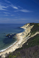A beautiful day at one of Block Island's most scenic coastlines.