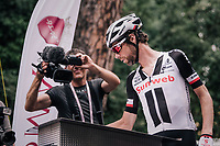 Laurens ten Dam (NED/Sunweb) signing on<br /> <br /> stage 21: Roma - Roma (115km)<br /> 101th Giro d'Italia 2018