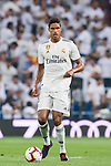 Raphael Varane of Real Madrid in action during the La Liga 2018-19 match between Real Madrid and CD Leganes at Estadio Santiago Bernabeu on September 01 2018 in Madrid, Spain. Photo by Diego Souto / Power Sport Images