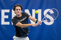 Amstelveen, Netherlands, 14  December, 2020, National Tennis Center, NTC, NK Indoor, National  Indoor Tennis Championships, Qualifying: Max van Nunen (NED) <br /> Photo: Henk Koster/tennisimages.com