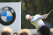 Rory MCILROY (NIR) during round 1 of the 2015 BMW PGA Championship over the West Course at Wentworth, Virgina Water, London. 21/05/2015<br /> Picture Fran Caffrey, www.golffile.ie:
