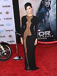 Hollywood, CA - NOVEMBER 04: Jaimie Alexander  arrives to Marvel's  THOR: THE DARK WORLD Premiere held at El Capitan Theatre in Hollywood, California on November 04,2012                                                                               © 2013 Hollywood Press Agency