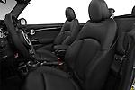 Front seat view of 2016 MINI MINI Cooper-S-Fwd 2 Door Convertible Front Seat  car photos