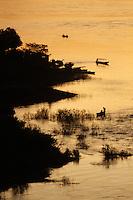 Rio Itacaiunas encontra o Tocantins na orla de Marabá.<br /> Marabá, Pará, Brasil.<br /> Foto Raimundo Paccó<br /> 01/06/2014
